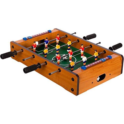 "Maxstore Mini-Tisch-Kicker Tischfussball ""Dundee"", helles..."