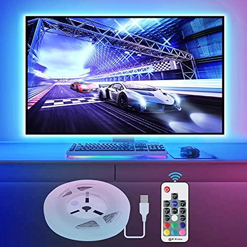 Vansky 2M LED TV Hintergrundbeleuchtung für HDTV/Gaming PC LED...