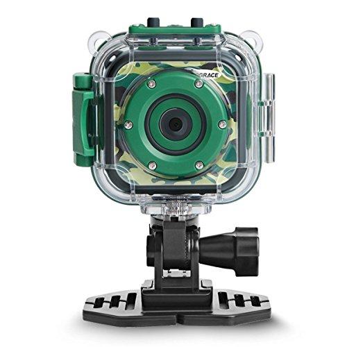PROGRACE Kids Camera 1080P Digitale Foto- / Videokameras...