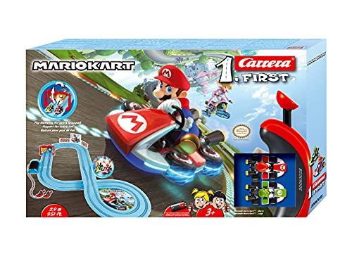 Carrera 20063028 FIRST Nintendo Mario Kart Rennstrecken-Set I 2,9m...