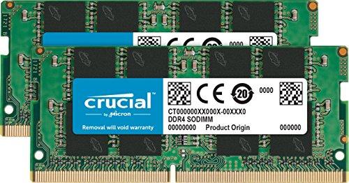 Crucial CT2K16G4SFD8266 32GB (16GB x2) Speicher Kit (DDR4, 2666 MT/s,...