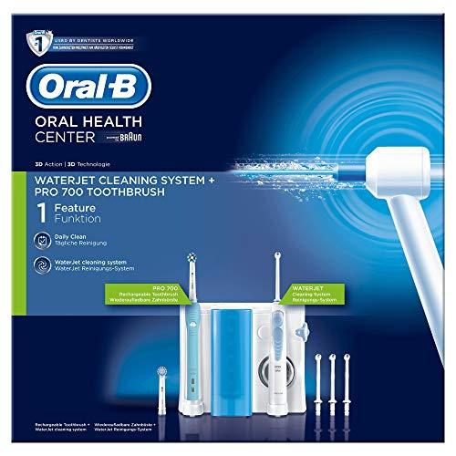 Oral-B Mundpflegecenter PRO 700 Elektrische Zahnbürste + Waterjet...