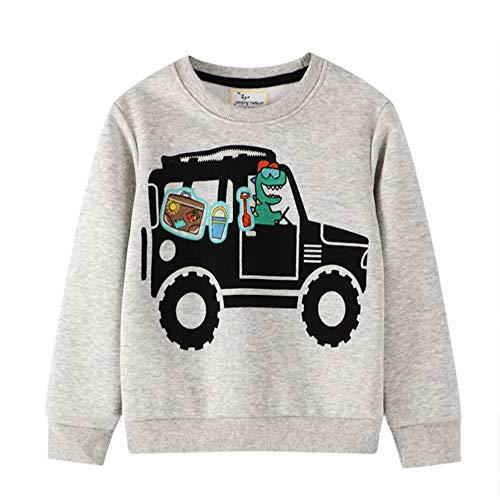 Little Hand Jungen Pullover Kinder Sweatshirt Dinosaur Jumper Sweater...