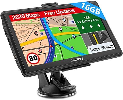 Navigation für Auto LKW Navi 7 Zoll Navigationsgerät Testsieger 2020...