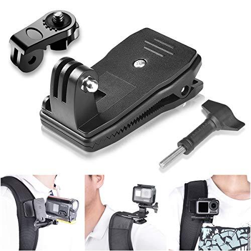 3in1 Anti-Rutsch 360 Grad Rotation Action Kamera Klemmhalterung Kit...