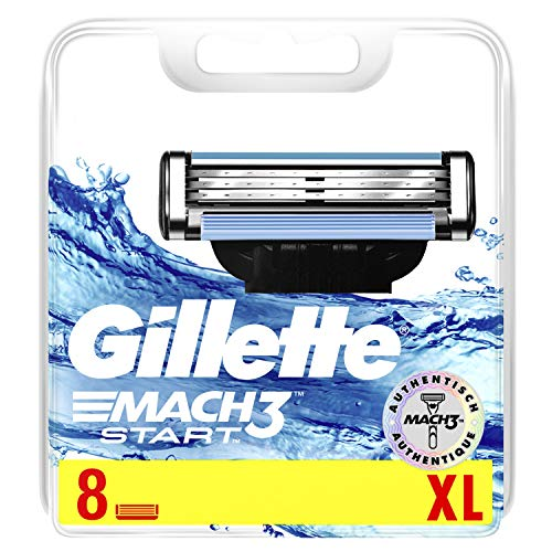 Gillette Mach3 Start Rasierklingen mit verbesserten...