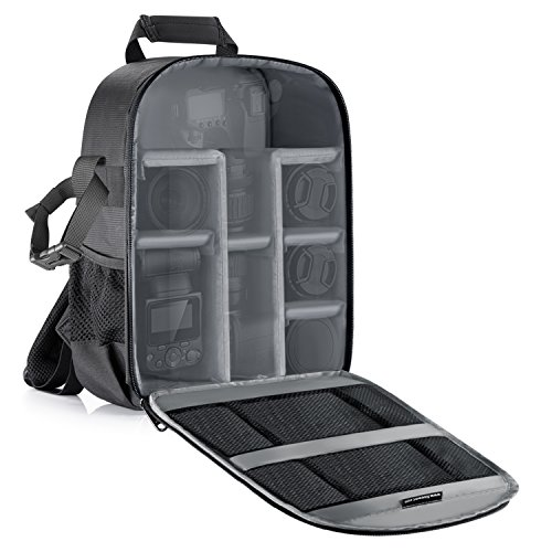 Neewer® Flexible Trennwand Kamera Gepolsterte Rucksack Tasche Stoß-...