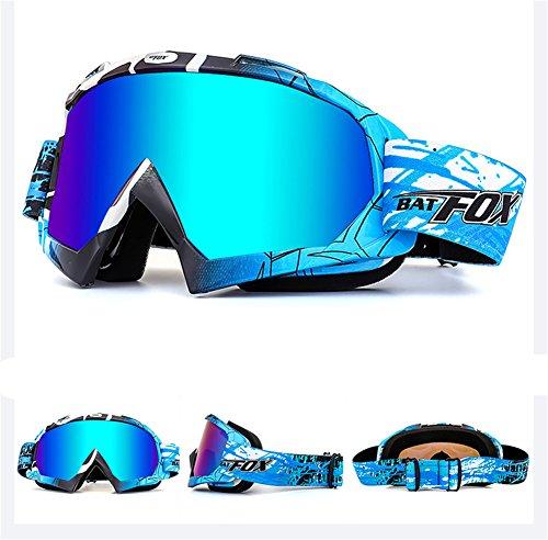 IHRKleid Motorrad Goggle Motocross Wind Staubschutz Fliegerbrille...