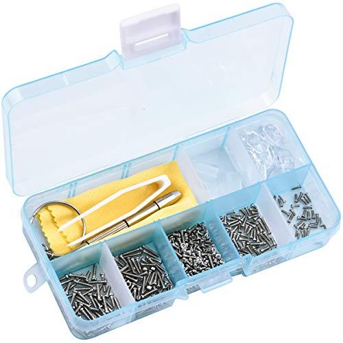 Brillen Reparatur Set, 500 Stück Brillen Reparatur Werkzeugsatz mit...