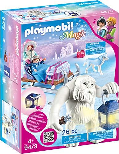 PLAYMOBIL Magic 9473 Schneetroll mit Schlitten und Lichteffekt, Ab 4...