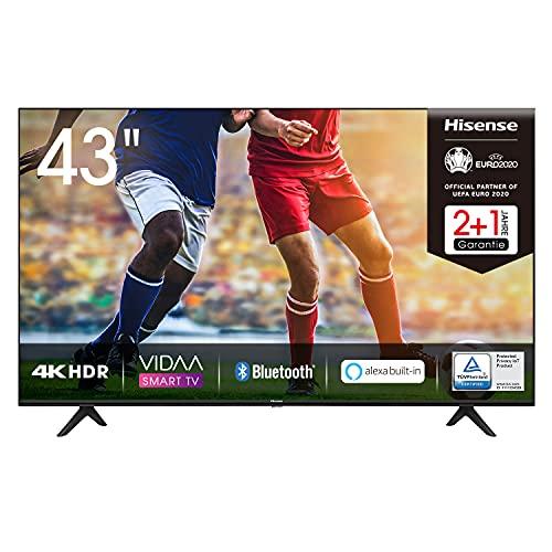 Hisense 43AE7000F 108cm (43 Zoll) Fernseher (4K Ultra HD, HDR, Triple...