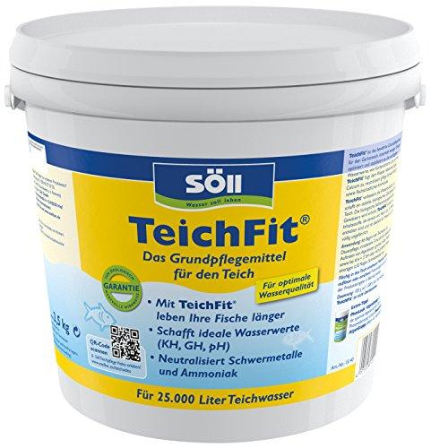 Söll 15140 TeichFit Grundpflegemittel für den Teich 2,5 kg -...