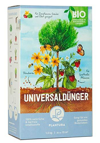 Plantura Bio Universaldünger mit 3 Monaten Langzeitwirkung,...