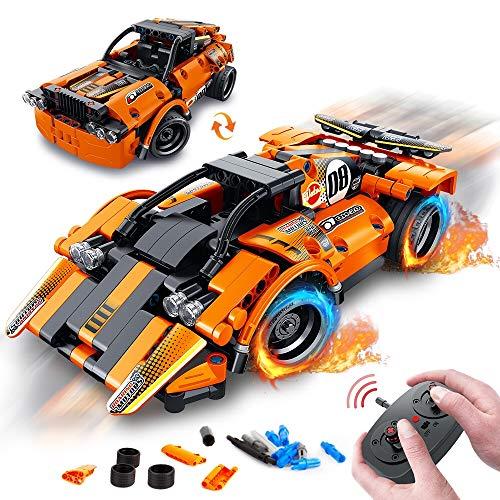 VATOS STEM Bausteine Auto Spielzeug ab 6 7 8 9 10 Jahren für Jungen &...