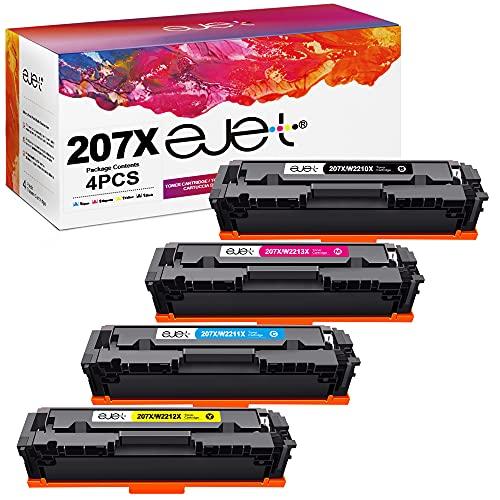 ejet Kompatibel Tonerkartusche als Ersatz für 207X W2210X Color...
