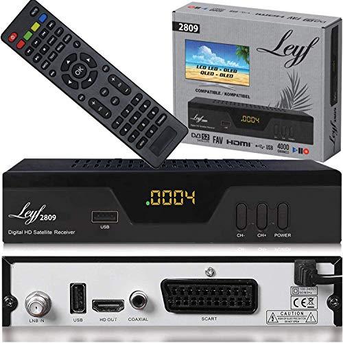 Leyf 2809 Digital Satellite Satellite Receiver (HDTV, DVB-S/S2, HDMI,...