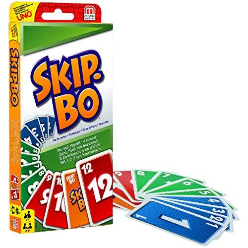 Skip-Bo: Beim Skip-Bo ist die strategische Vorgehensweise...