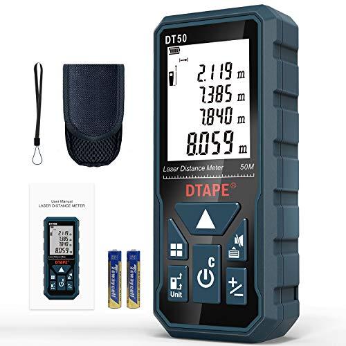 Entfernungsmesser, DTAPE DT50 50M Digitales Laser Entfernungsmesse mit...