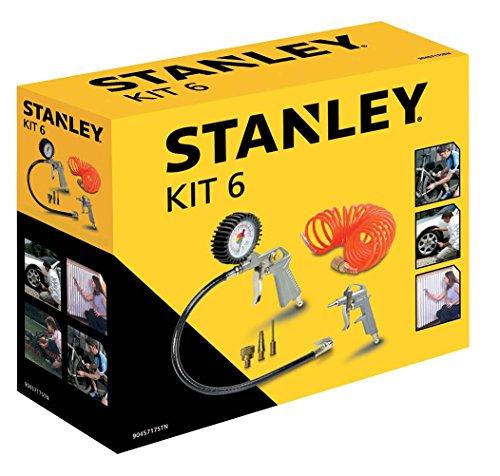 Stanley Zubehör für Luftkompressoren, Airtoolkit 6 Stück,...