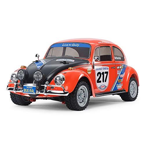 TAMIYA 58650 58650-1:10 RC VW Beetle Rally MF-01X, ferngesteuertes...