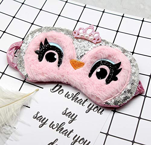 Schlafmaske mit Cartoon-Motiv, für Mädchen, Kinder, Jugendliche,...