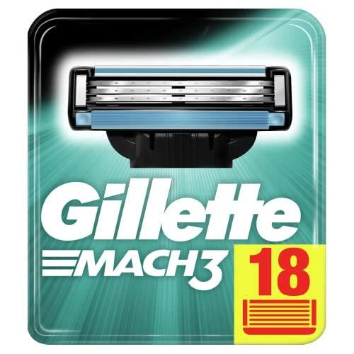 Gillette Mach3 Rasierklingen für Männer, 18 Ersatzklingen,...