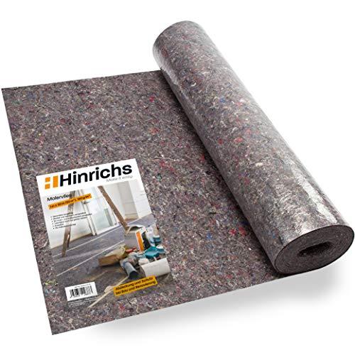Hinrichs Malervlies 50 m x 1m = 50 m² - 180g Abdeckvlies - Vlies mit...