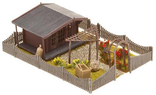 Faller FA180491 - Schrebergarten mit Gartenlaube