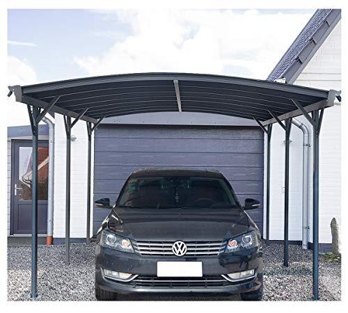 Home Deluxe - Design Carport anthrazit - Falo - Maße: 505 x 300 x...
