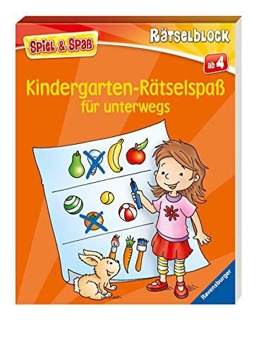 Kindergarten-Rätselspaß für unterwegs (Spiel & Spaß -...
