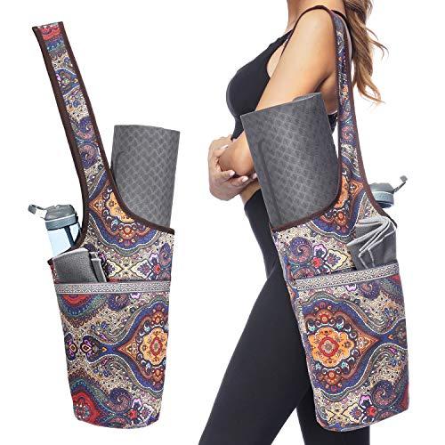 Ewedoos Yoga Taschen aus Baumwoll-Canvas für meisten yogamatte &...