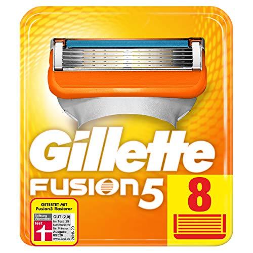 Gillette Fusion 5 Rasierklingen Für Männer, Für Eine Kaum Spürbare...