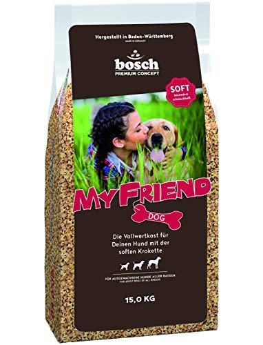 bosch My Friend Soft | Hundefutter für ausgewachsene Hunde aller...