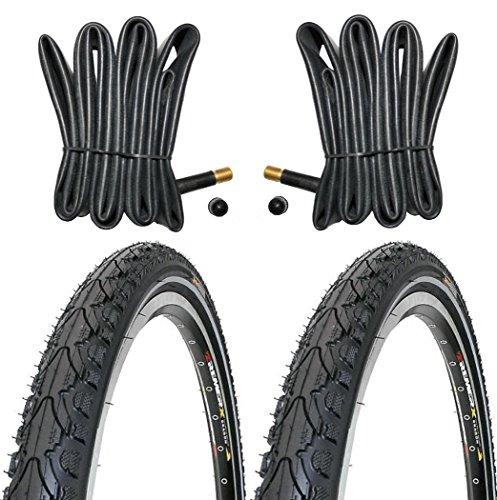 KENDA 2 x Reifen Fahrradreifen 28 Zoll 37-622 35C mit Reflexstreifen...