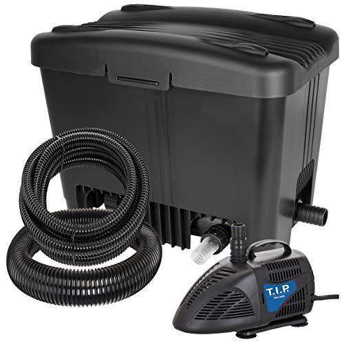 T.I.P. Teichaußenfilter WDF 10000 UV 11, UV-C 11 Watt, für Teiche...