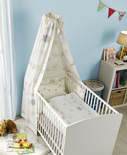 s.Oliver Junior Geschenkset für Babys – Bettwäsche 100x135 cm +...