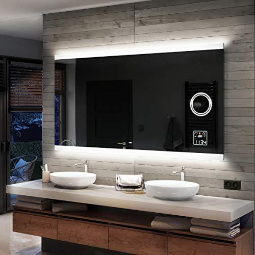 Artforma Badspiegel 100x80cm mit LED Beleuchtung - Wählen Sie...