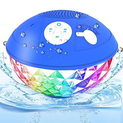 Bluetooth Pool Lautsprecher, IPX7 Wasserdicht Bluetooth Lautsprecher...
