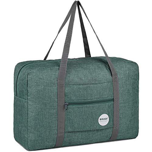 WANDF Leichter Faltbare Reise-Gepäck Handgepäck Duffel Taschen...