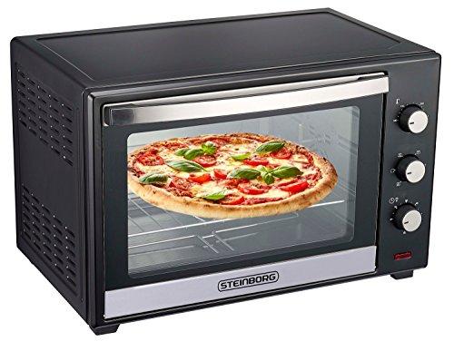 Minibackofen 60 Liter | Umluft Ofen | Pizzaofen | Mini Backofen |...