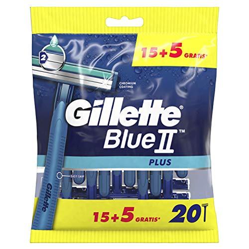 Gillette Blue II Plus Einwegrasierer–20Stück