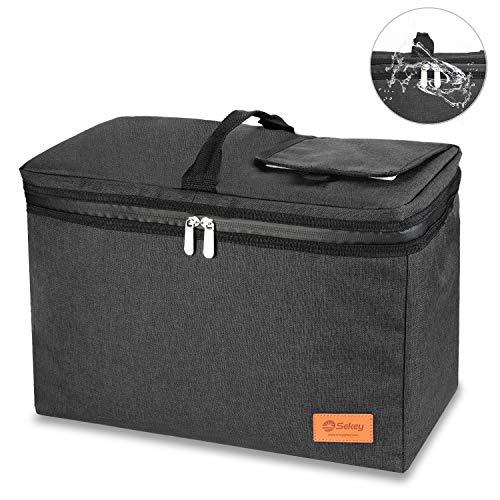 Sekey 24L Kühltasche, Thermotasche, isolierte Picknicktasche mit...