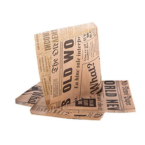 (Packung mit 200 Stück) Oldnews, Bastelpackung 150 x 150 mm Papier 15...