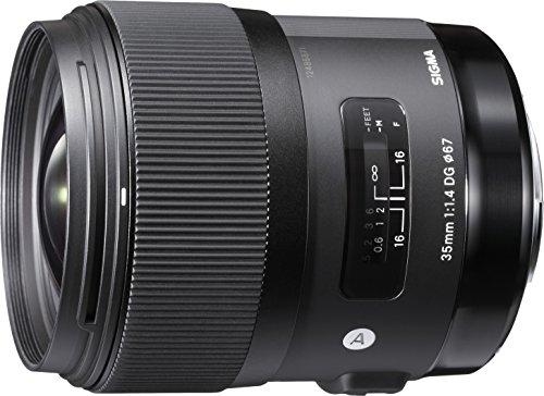 Sigma 35mm F1,4 DG HSM Art Objektiv (67mm Filtergewinde) für Nikon...