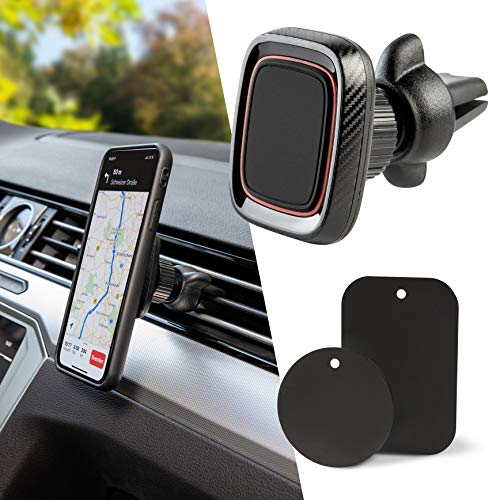 Handyhalterung Auto Magnet 360° Drehung Universal Magnethalterung...