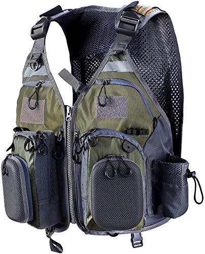 PELLOR Angel Westen, Atmungsaktive Weste mit Mehreren Taschen...