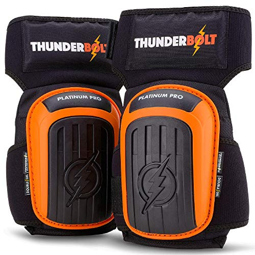 Thunderbolt® Knieschoner Professioneller Knieschutz mit komfortablem...