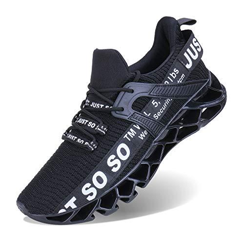 JSLEAP Schuhe Herren Fitness Laufschuhe Atmungsaktiv rutschfeste Mode...
