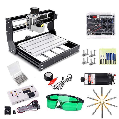 CNC 3018 Pro Engraver Fräsmaschine mit 7W Funktionsheader, Yofuly...
