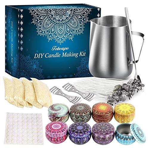 Aischens Kerzenherstellung Kit, DIY Kerzenherstellung Zubehör, Kerzen...